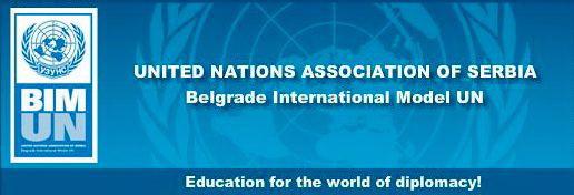 Београдски међународни модел Уједињених нација – БИМУН 2017