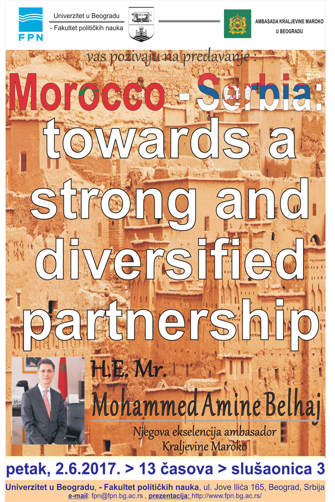 Morocco-Serbia: towards a strong and diversified partnership