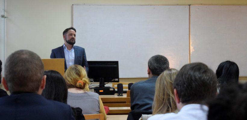 Уводно предавање проф. др Филипа Канлифа на Регионалном мастер програму студија мира