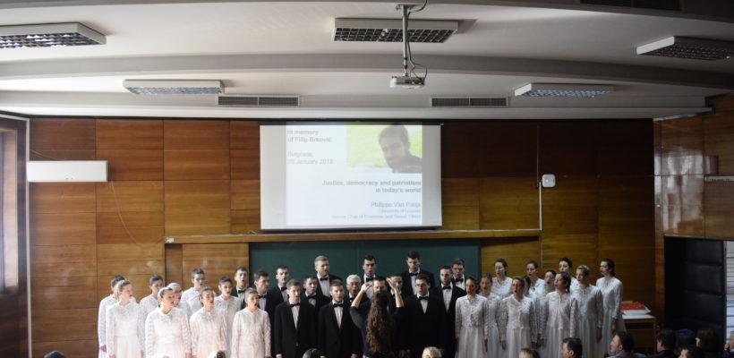 Додељена Награда др Филип Брковић и одржано меморијално предавање проф. др Филипа ван Паријса