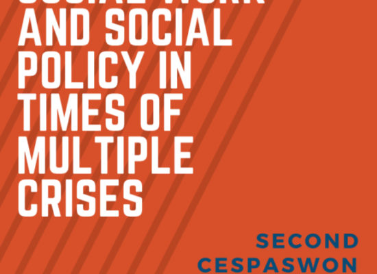 "Позив на вебинар CESPASWON на тему ""SOCIAL WORK AND SOCIAL POLICY IN TIMES OF MULTIPLE CRISES"""