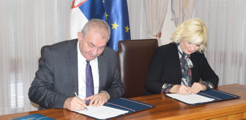 Потписан споразум о сарадњи Факултета политичких наука и Министарства грађевинарства, саобраћаја и инфраструктуре