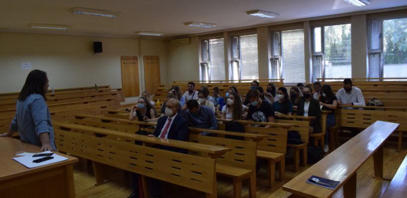 Студенти Андраши универзитета из Будимпеште посетили Факултет политичких наука