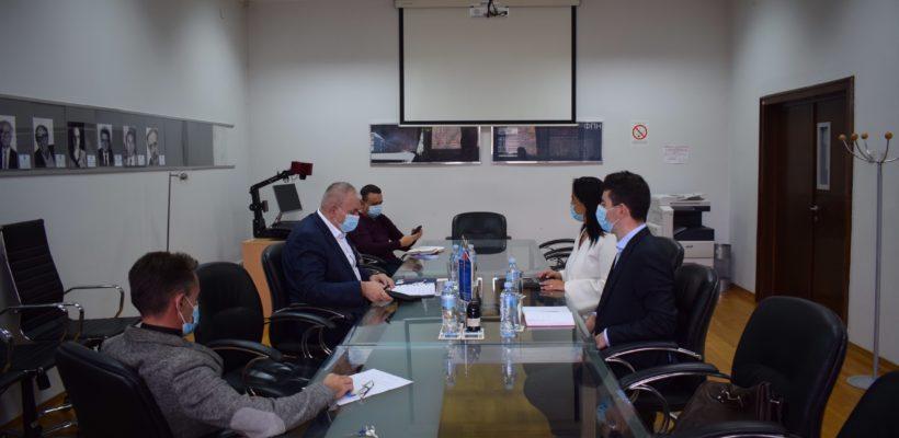 Oдржан састанак између декана Факултета политичких наука и шефице представништва Високог комесаријата УН за избеглице (UNHCR) у Републици Србији