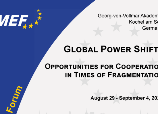 CfA: 19th Brussels European Forum