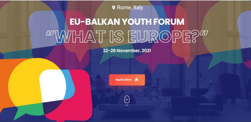 Call for application: EU-Balkan Youth Forum