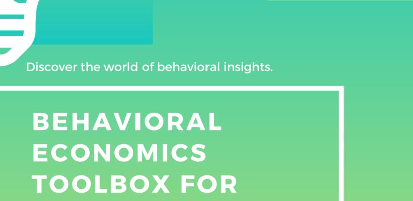 Behavioral Economics Toolbox for Policy Design  Masterclass