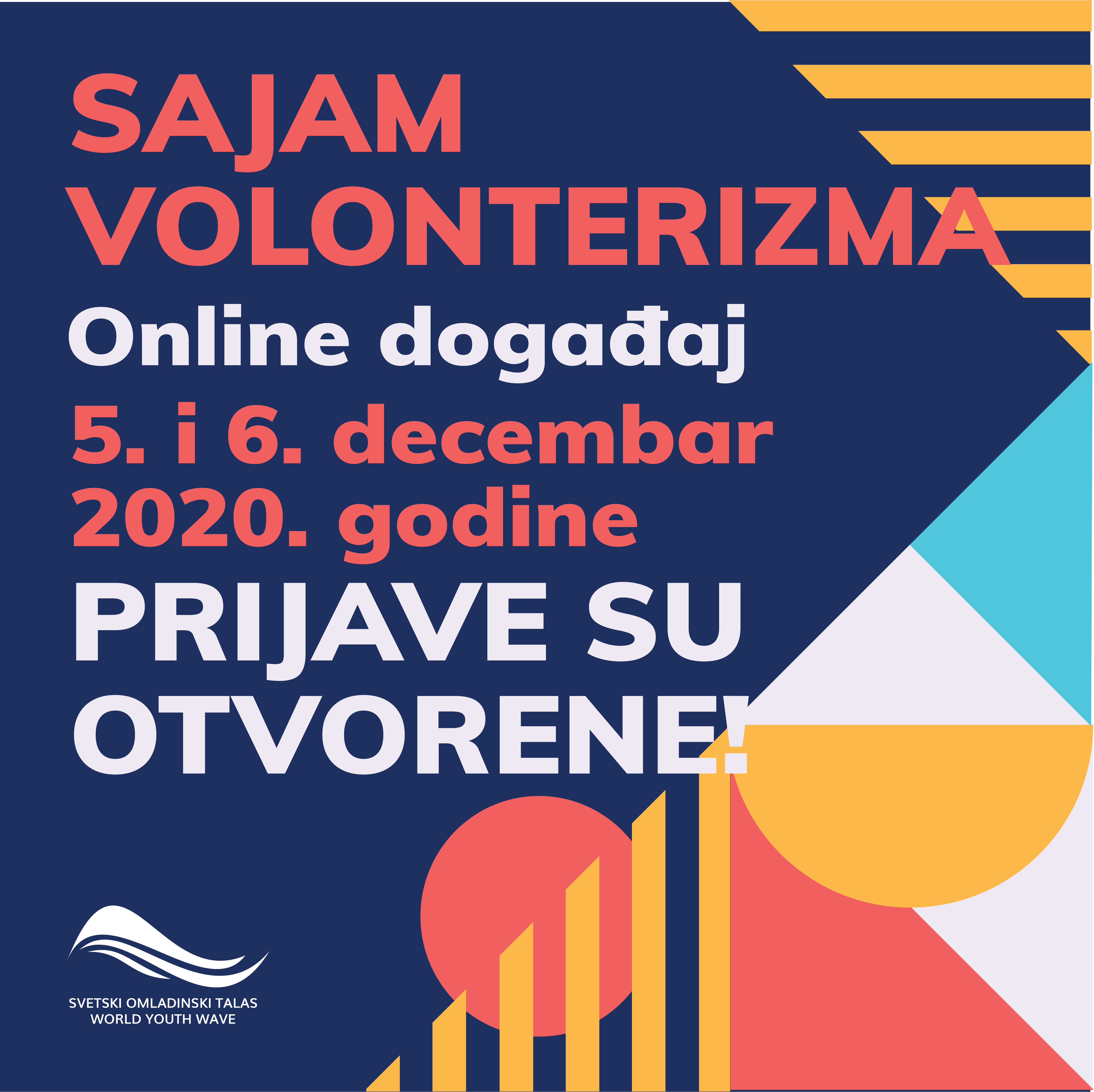 Позив на онлајн Сајам волонтеризма