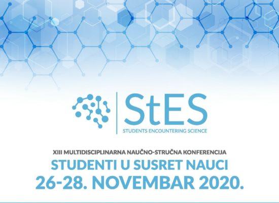 XIII Стручно-научна конференција Студенти у сусрет науци