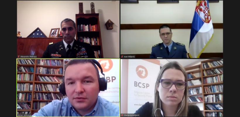 """Одржана дискусија на тему """"Србија и САД- заједно смо сигурнији"""""""