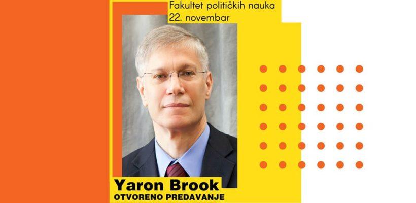 Позив на предавање Јарона Брука